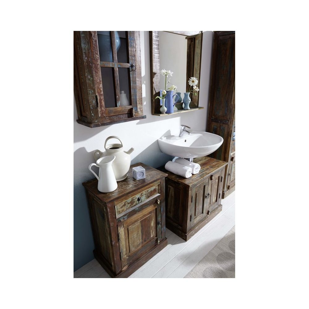 Reclaimed Wood Sink Vanity Bathroom Furniture