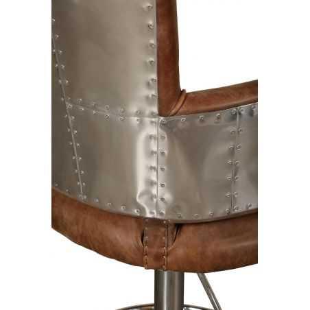 Aviator Bar Stool Aviation Furniture Smithers of Stamford £ 949.00 Store UK, US, EU, AE,BE,CA,DK,FR,DE,IE,IT,MT,NL,NO,ES,SE