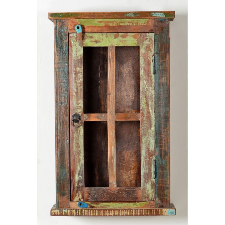 Reused Kitchen Cabinets: Reclaimed Wood Wall Cabinet Bathroom Or Kitchen