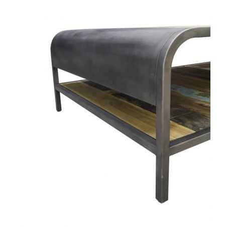 Industrial Reclaimed Coffee Table Reclaimed Wood Furniture Smithers of Stamford £ 599.00 Store UK, US, EU, AE,BE,CA,DK,FR,DE,...
