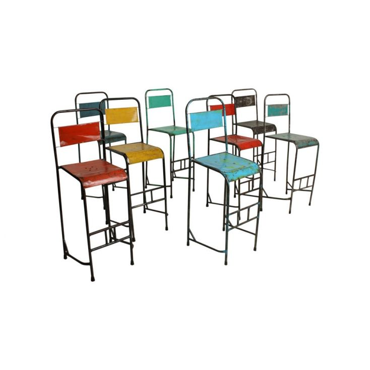 Outdoor Industrial Metal Science Bar Stool Industrial Furniture Smithers of Stamford £ 128.00 Store UK, US, EU, AE,BE,CA,DK,F...