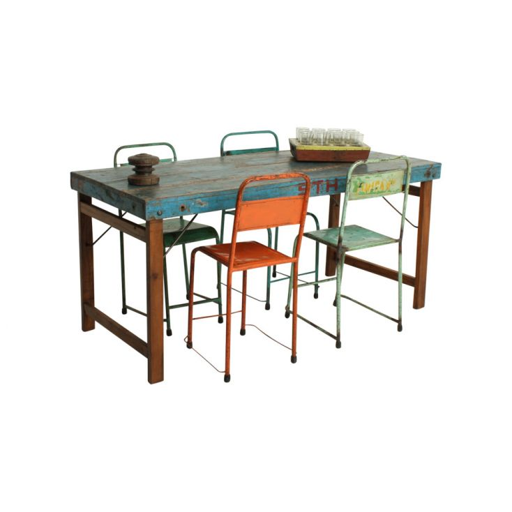 Folding Industrial Reclaimed Wood Dining Tables Dining Tables Smithers of Stamford £ 532.00 Store UK, US, EU, AE,BE,CA,DK,FR,...
