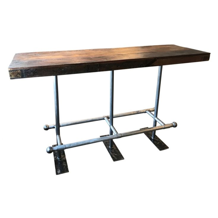 Reclaimed Wood Bar Table Industrial Furniture Smithers of Stamford £ 705.00 Store UK, US, EU, AE,BE,CA,DK,FR,DE,IE,IT,MT,NL,N...