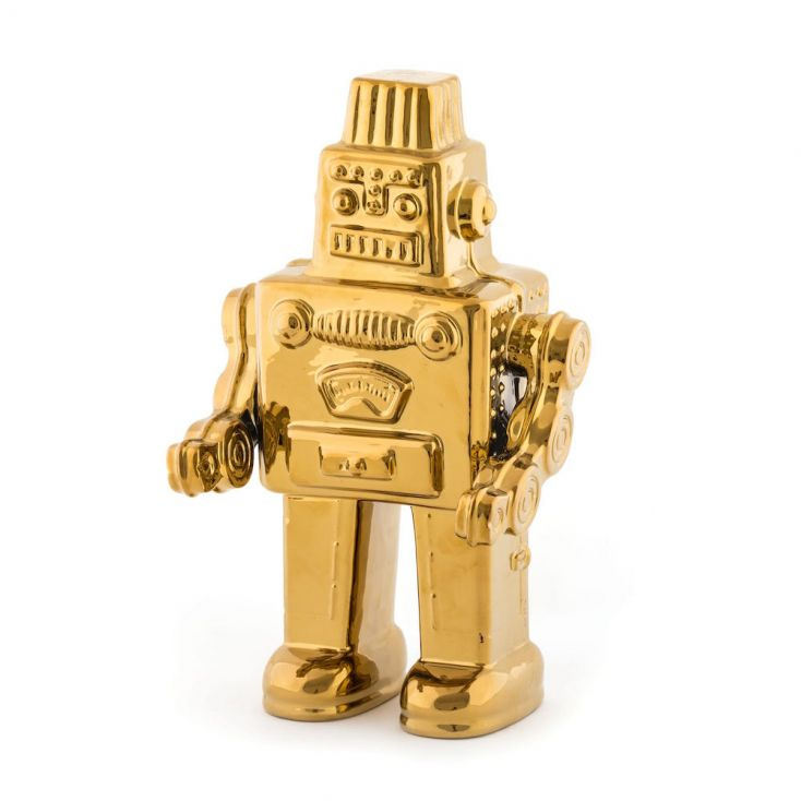 My Gold Robot Retro Ornaments £ 95.00 Store UK, US, EU, AE,BE,CA,DK,FR,DE,IE,IT,MT,NL,NO,ES,SE