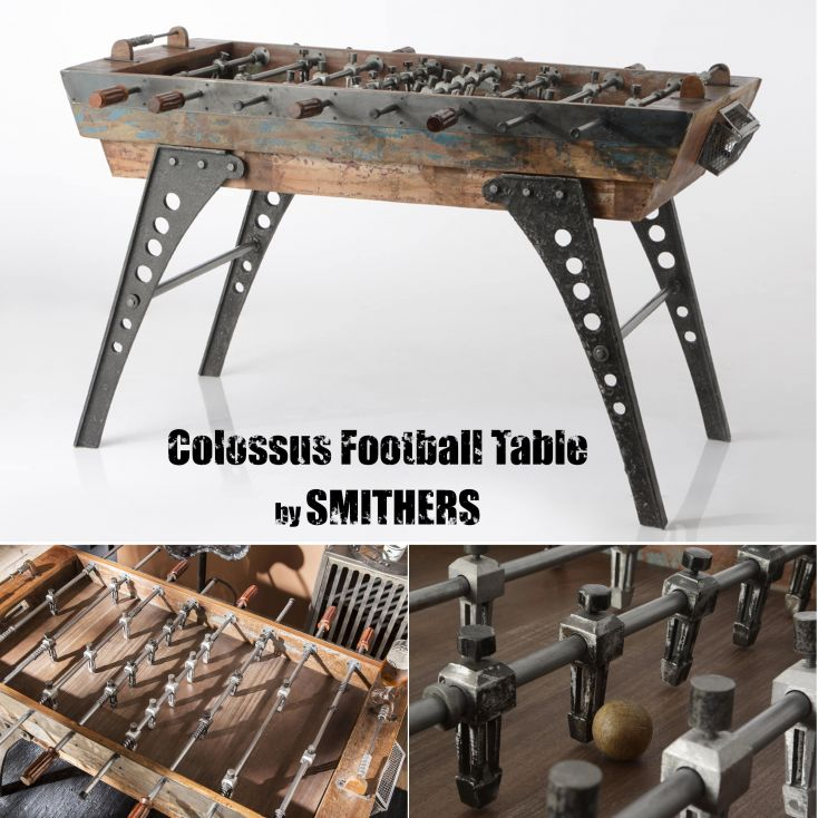 Industrial Football Table Reclaimed Wood Furniture 2,950.00 Store UK, US, EU