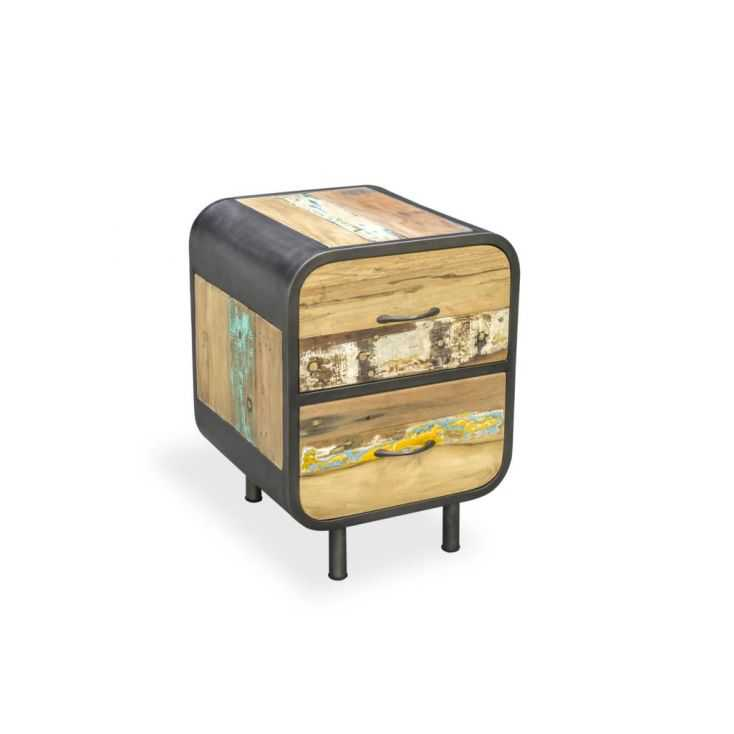 New York Bedside Table Reclaimed Wood Furniture Smithers of Stamford £ 531.00 Store UK, US, EU, AE,BE,CA,DK,FR,DE,IE,IT,MT,NL...