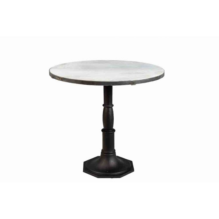 Round Marble Dining Table Industrial Furniture Smithers of Stamford £ 600.00 Store UK, US, EU, AE,BE,CA,DK,FR,DE,IE,IT,MT,NL,...