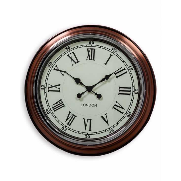 Copper Wall Clock Large Amp Small