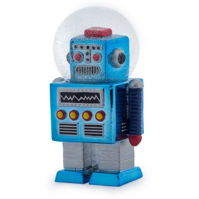 Robot Snow Globe Retro Ornaments Seletti £ 20.00 Store UK, US, EU