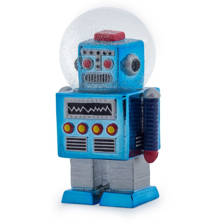 Robot Snow Globe Retro Ornaments Seletti £ 20.00 Store UK, US, EU, AE,BE,CA,DK,FR,DE,IE,IT,MT,NL,NO,ES,SE