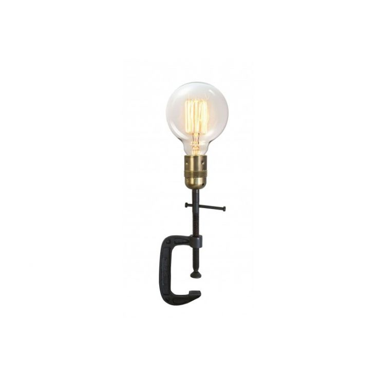 Table Clamp Lamp