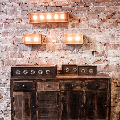 Industrial Wall Lamp Vintage Lighting £ 145.00 Store UK, US, EU, AE,BE,CA,DK,FR,DE,IE,IT,MT,NL,NO,ES,SE