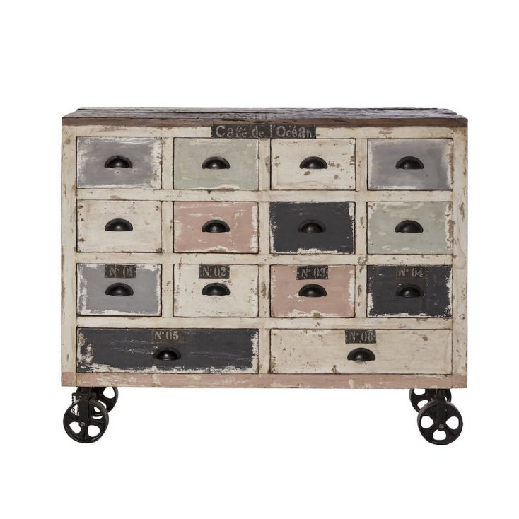 Apothecary Chest Reclaimed Wood Furniture Smithers of Stamford £ 980.00 Store UK, US, EU