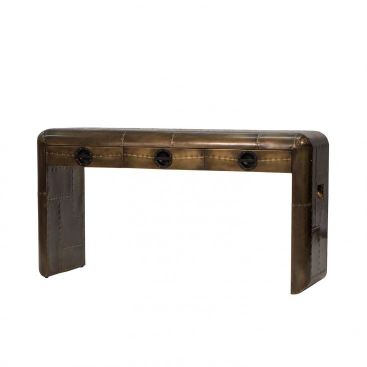Spitfire Brass Console Table Aviation Furniture Smithers of Stamford 1,050.00 Store UK, US, EU, AE,BE,CA,DK,FR,DE,IE,IT,MT,NL...