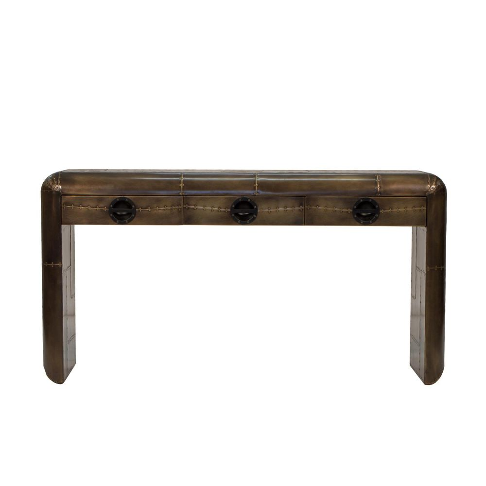 Spitfire brass console table aviation furniture smithers of stamford 1050 00 store uk us eu