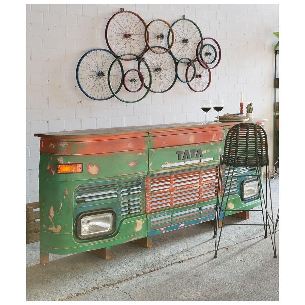 Bicycle Wall Art Wheels Recycled On Walls Urban