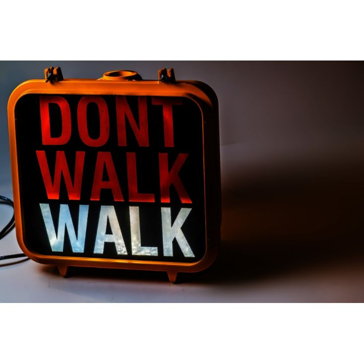 Walk Don't Walk Traffic Signs Retro Signs Smithers of Stamford £ 960.00 Store UK, US, EU, AE,BE,CA,DK,FR,DE,IE,IT,MT,NL,NO,ES,SE