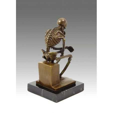 Bronze Skeleton Home Smithers of Stamford £ 187.00 Store UK, US, EU, AE,BE,CA,DK,FR,DE,IE,IT,MT,NL,NO,ES,SE
