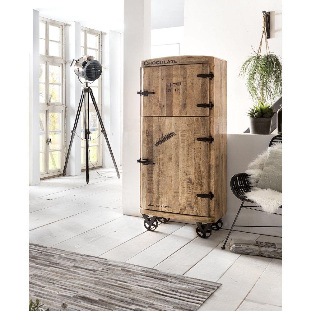 Wood Bar Cabinet Rustic Amp Vintage
