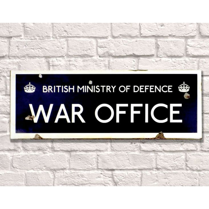 British Ministry of Defence War Office Retro Signs Smithers of Stamford £ 28.00 Store UK, US, EU, AE,BE,CA,DK,FR,DE,IE,IT,MT,...