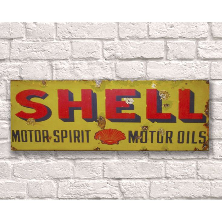 Shell Oil Sign Retro Signs Smithers of Stamford £ 35.00 Store UK, US, EU, AE,BE,CA,DK,FR,DE,IE,IT,MT,NL,NO,ES,SE