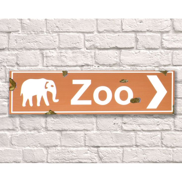 Zoo Sign Retro Signs Smithers of Stamford £ 35.00 Store UK, US, EU, AE,BE,CA,DK,FR,DE,IE,IT,MT,NL,NO,ES,SE