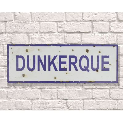 Dunkerque Sign Retro Signs Smithers of Stamford £ 28.00 Store UK, US, EU, AE,BE,CA,DK,FR,DE,IE,IT,MT,NL,NO,ES,SE