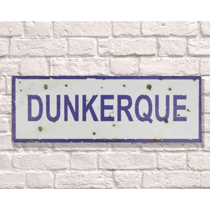 Dunkerque Sign Retro Signs Smithers of Stamford £ 28.00 Store UK, US, EU