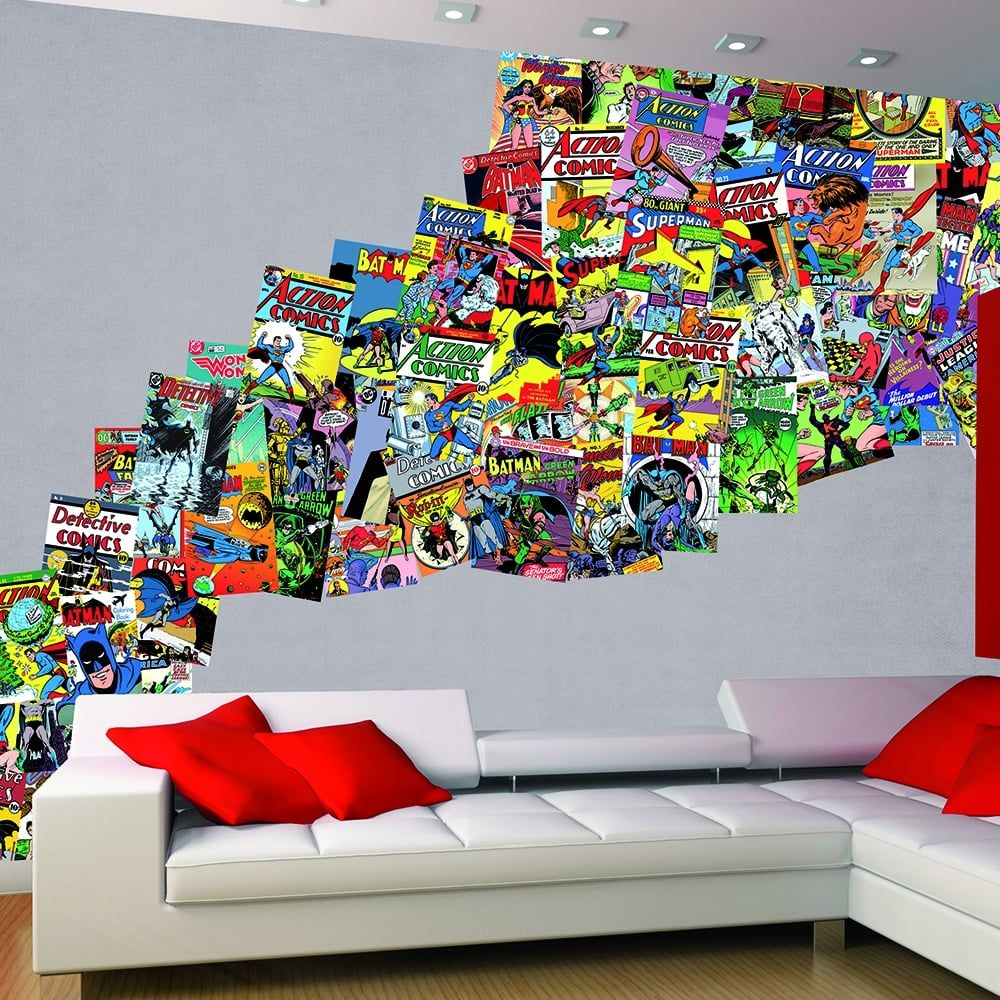 Dc Comics Wallpaper Justice League Wall Mural