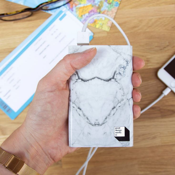 Marble Power Bank Personal Accessories £ 20.00 Store UK, US, EU, AE,BE,CA,DK,FR,DE,IE,IT,MT,NL,NO,ES,SE