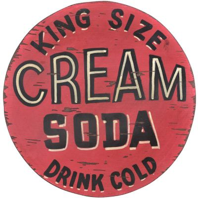 Cream Soda Sign
