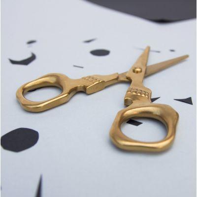 Gold Skull Scissors