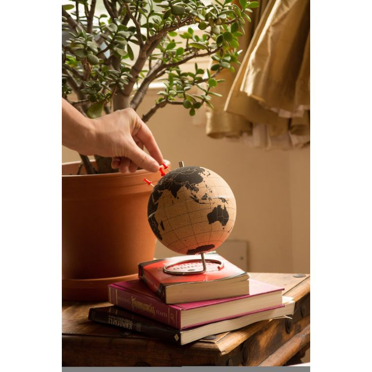 World Globe Pin Your Travels Retro Ornaments Smithers of Stamford £ 40.00 Store UK, US, EU