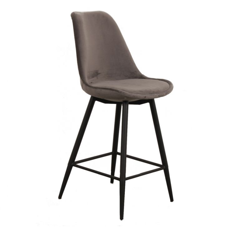 Velvet Bar Stool Retro Furniture £ 320.00 Store UK, US, EU