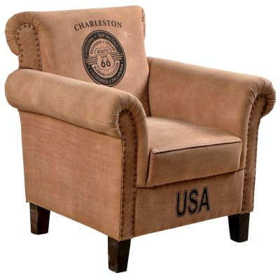 Route 66 Armchair Vintage Furniture 1,120.00 Store UK, US, EU, AE,BE,CA,DK,FR,DE,IE,IT,MT,NL,NO,ES,SE
