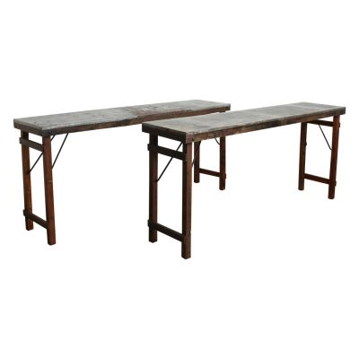 Zinc Top Console Table Side Tables & Coffee Tables Smithers of Stamford £ 390.00 Store UK, US, EU, AE,BE,CA,DK,FR,DE,IE,IT,MT...