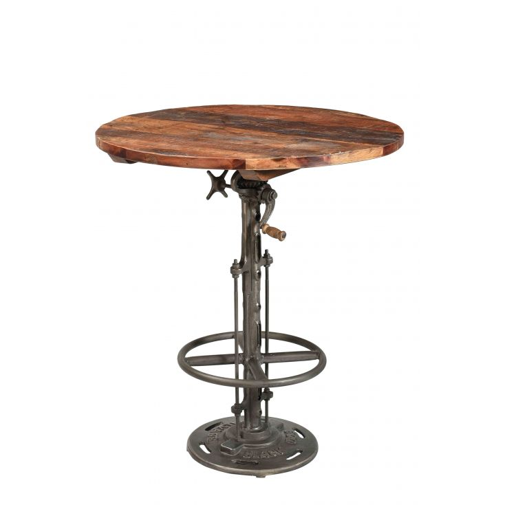 Industrial Bar Table Dining Tables Smithers of Stamford £ 235.00 Store UK, US, EU, AE,BE,CA,DK,FR,DE,IE,IT,MT,NL,NO,ES,SE