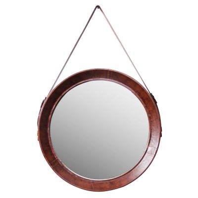 Leather Belt Mirror