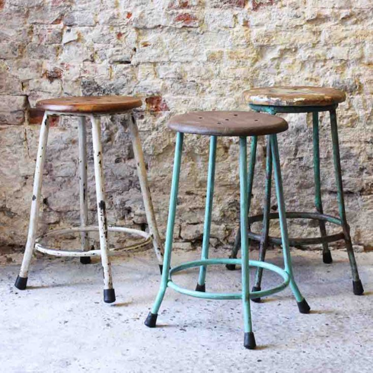 Science Lab Stool Industrial Furniture Smithers of Stamford £ 120.00 Store UK, US, EU