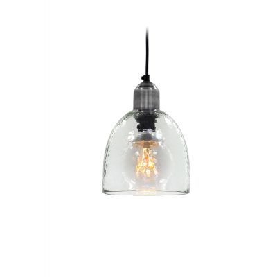 Dome Rippled Glass Pendant Light Vintage Lighting Smithers of Stamford £ 60.00 Store UK, US, EU