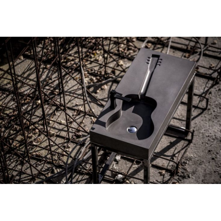 Concrete Guitar Sink Industrial Furniture 1,560.00 Store UK, US, EU, AE,BE,CA,DK,FR,DE,IE,IT,MT,NL,NO,ES,SE