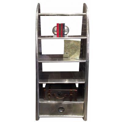 Spitfire / Silver Brass Bookcase