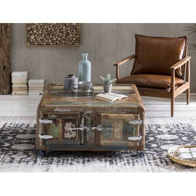 Fridge Reclaimed Storage Coffee Table