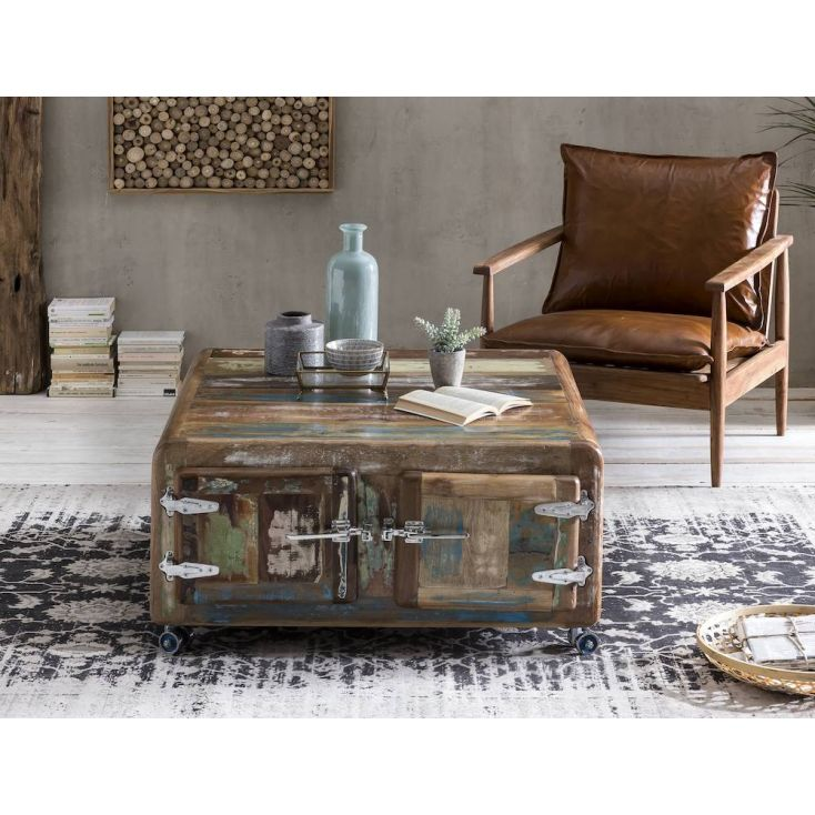 Fridge Reclaimed Storage Coffee Table Reclaimed Wood Furniture Smithers of Stamford £ 841.00 Store UK, US, EU, AE,BE,CA,DK,FR...