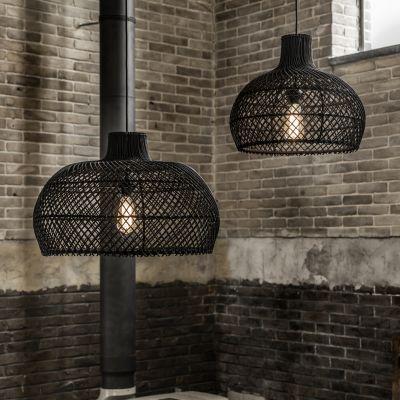 Black Rattan Pendant Light Vintage Lighting £ 195.00 Store UK, US, EU, AE,BE,CA,DK,FR,DE,IE,IT,MT,NL,NO,ES,SE