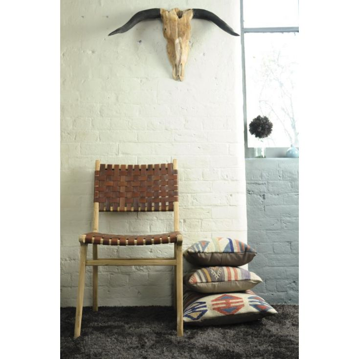 Woven Leather Dining Chair Vintage Furniture £ 270.00 Store UK, US, EU, AE,BE,CA,DK,FR,DE,IE,IT,MT,NL,NO,ES,SE