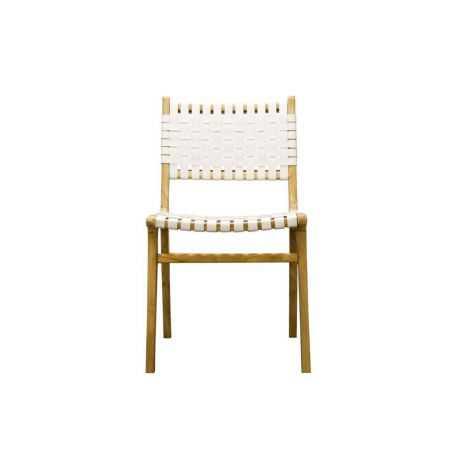 Woven White Leather Bedroom Chair Chairs  £280.00 Store UK, US, EU, AE,BE,CA,DK,FR,DE,IE,IT,MT,NL,NO,ES,SE