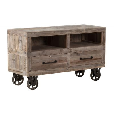 California Memorial Stadium TV Unit Reclaimed Wood Furniture Smithers of Stamford £ 645.00 Store UK, US, EU, AE,BE,CA,DK,FR,D...