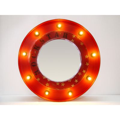 The Rockstar Mirror Vintage Lighting Smithers of Stamford £ 260.00 Store UK, US, EU, AE,BE,CA,DK,FR,DE,IE,IT,MT,NL,NO,ES,SE