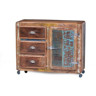Fridge Reclaimed Wood Sideboard Cabinets & Sideboards Smithers of Stamford 1,280.00 Store UK, US, EU, AE,BE,CA,DK,FR,DE,IE,IT...